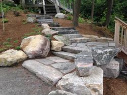 Skeleton Lake Granite stairs