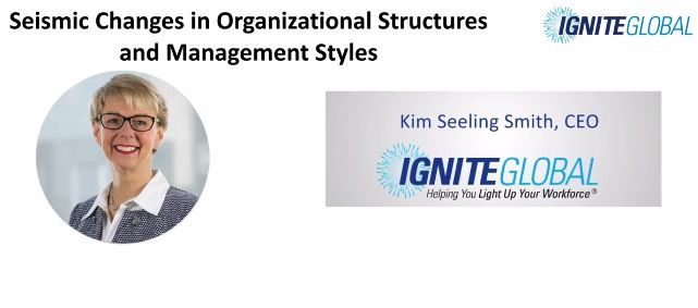 Seismic Changes in Organisational Structures and Management Styles