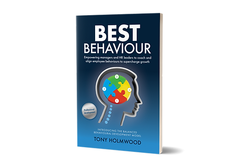 1 x Best Behaviour by Tony Holmwood ( Soft Cover Book )
