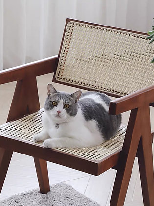 Oliver Rattan  Wooden Chair