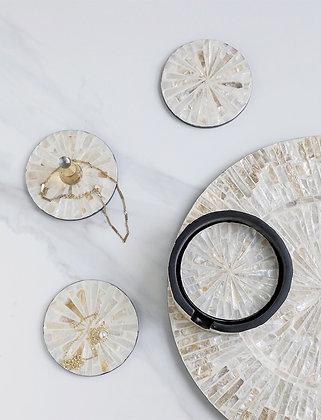 Malvina Shell Coaster
