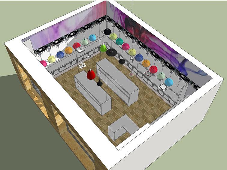 Consulenza architetto progetto negozio progetto for Progetti architettura on line