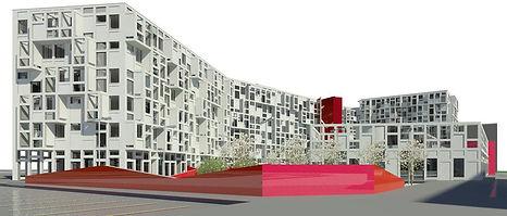 Progetto complesso polifunzionale Residenza, Commercio, Spazi Pubblici Frosinone