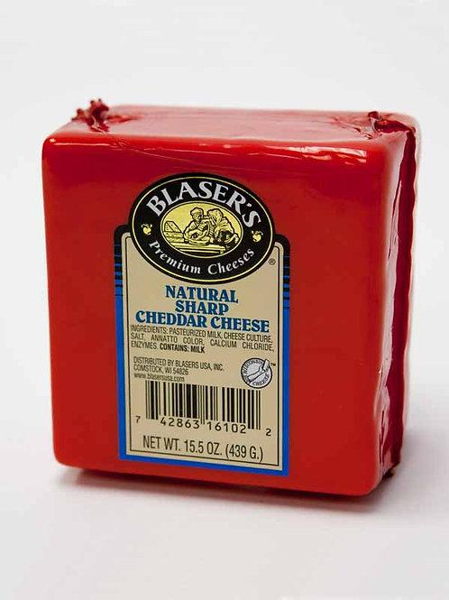 Blaser's Natural Sharp Cheddar Cheese