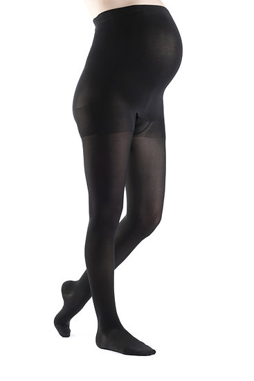 Sigvaris 840 Soft Opaque Maternity  Pantyhose