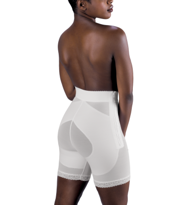 Design Veronique Zippered Rubenesque Gluteus Girdle