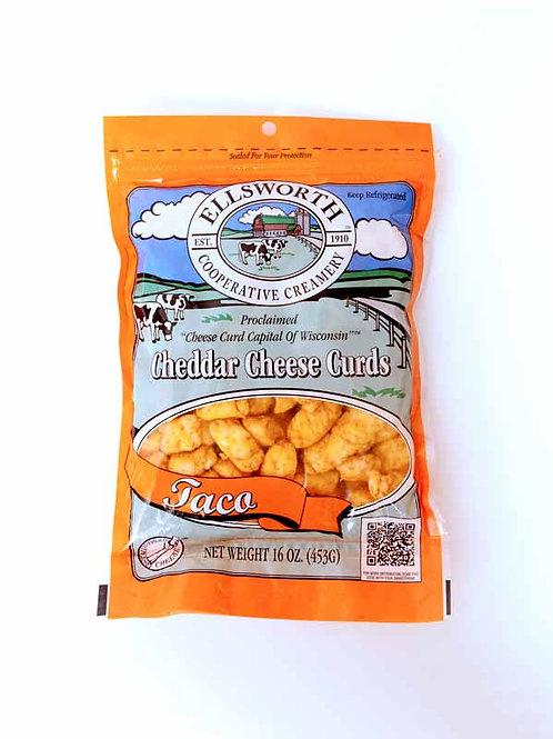 Ellsworth Taco Cheddar Cheese Curds