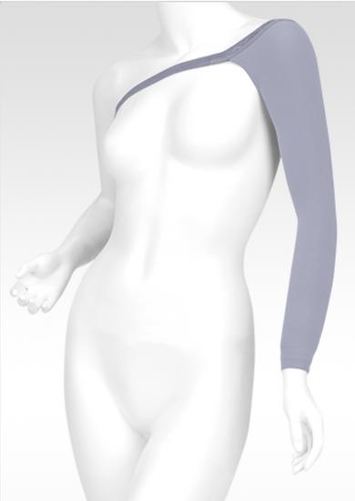 Juzo 3511 Arm Sleeve with Shoulder Cap - Fairy Dust
