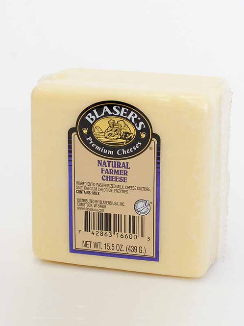 Blaser's Natural Farmer Cheese