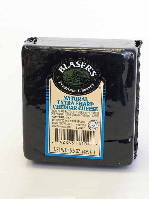 Blaser's Natural Extra Sharp Cheddar Cheese