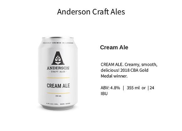 Anderson Cream Ale
