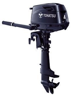 Tohatsu 4 hp outboard / east point marine