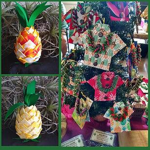 Kauai Pineapple Ornaments.jpg