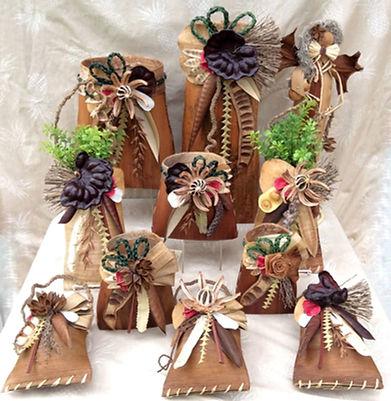 Hawaiian Palm Baskets-Amy Christmas-amy@