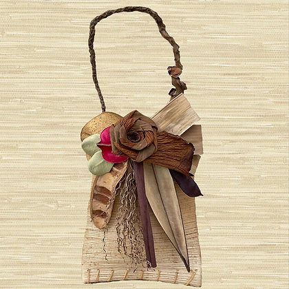 Royal Palm Pouch w/Philodendron rose $40-$65