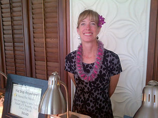 Amy Christmas at The Marriott Beach Club, Lihue, HI