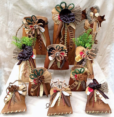 Hawaiian Palm Baskets grouping