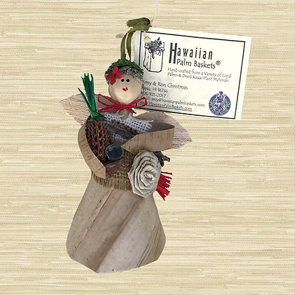 2019 Kauai Mahi'ai Angel Ornament $32