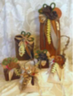 Handmade Hawaiian Palm frond baskets