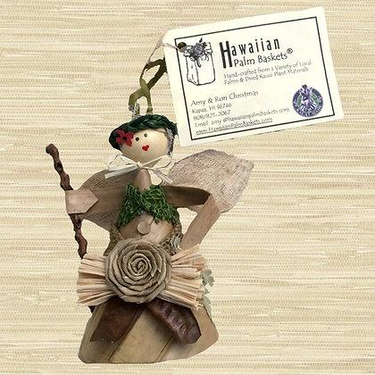 2018 Kauai Menehune Angel Ornament $32