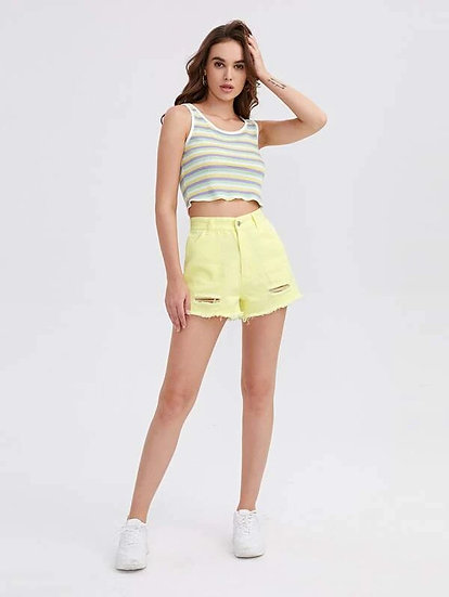 Louanne Denim Shorts