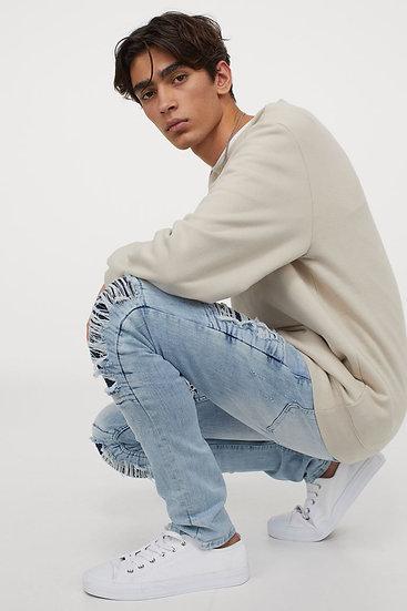 Fauvreau Distressed Regular Jeans