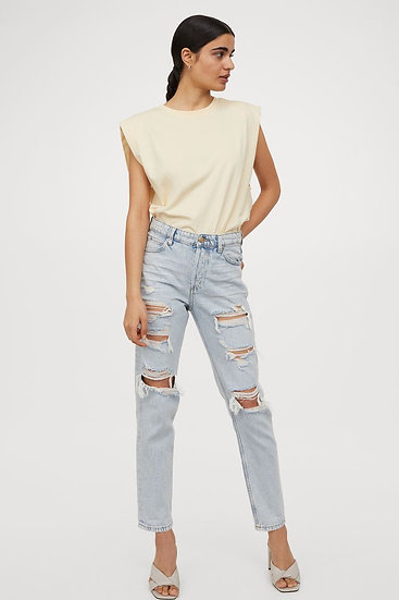 Laufen Ripped Mom Jeans