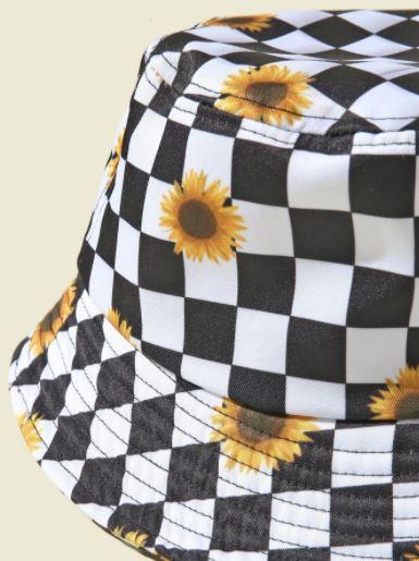 Sunflower Denim Hat