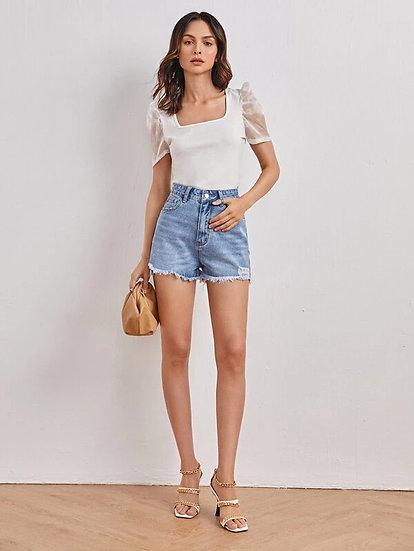 Lugano Denim Shorts