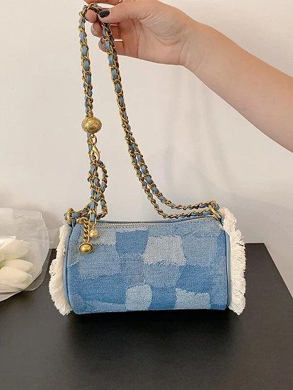 Lyon Denim Handbag