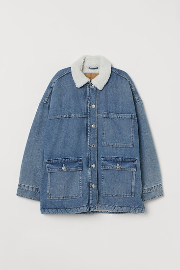 Beaupré Lined Denim Jacket