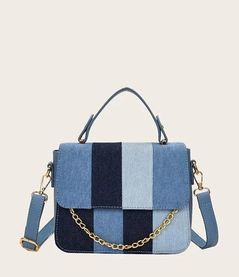 P15CES Signature™ Deuxième Denim Handbag