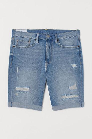 Slim Adrien Denim Shorts