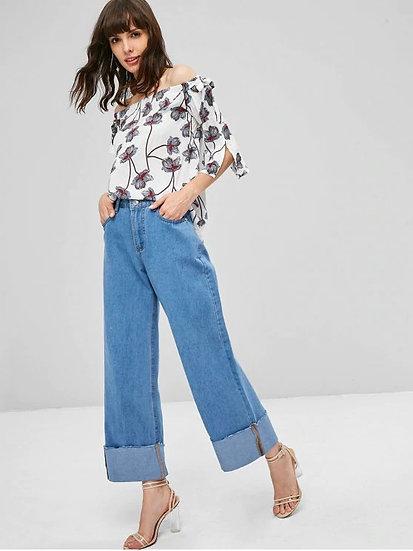 Cadieux Wide-Leg Jeans