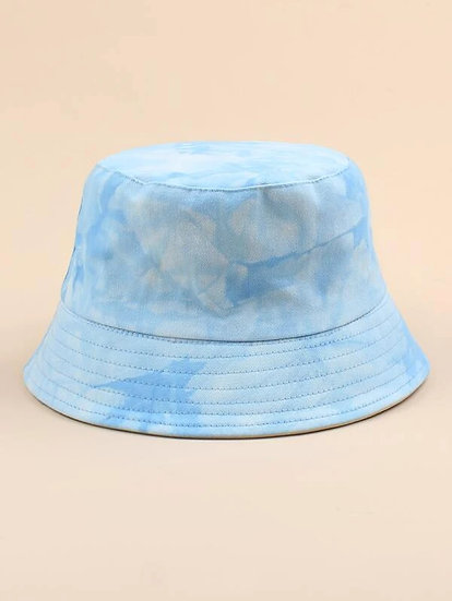 Watercolour Denim Hat