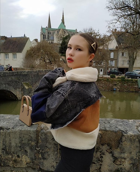 Symphorien Wool Denim Jacket