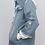Thumbnail: Splicing Hooded Denim Jacket