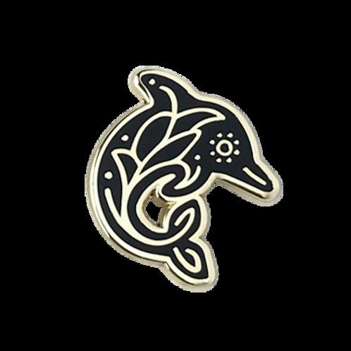 Dolphin Enamel Pin