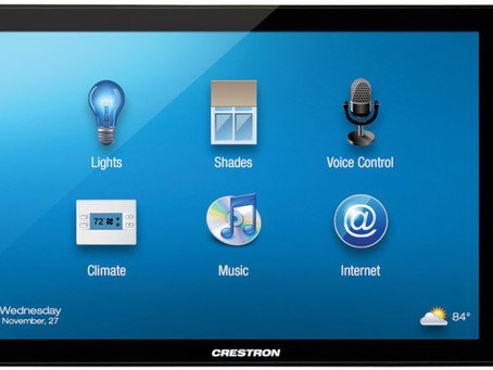 """Crestron Unveils New 15"""" Capacitive Touch Screen at CEDIA® EXPO 2015"""
