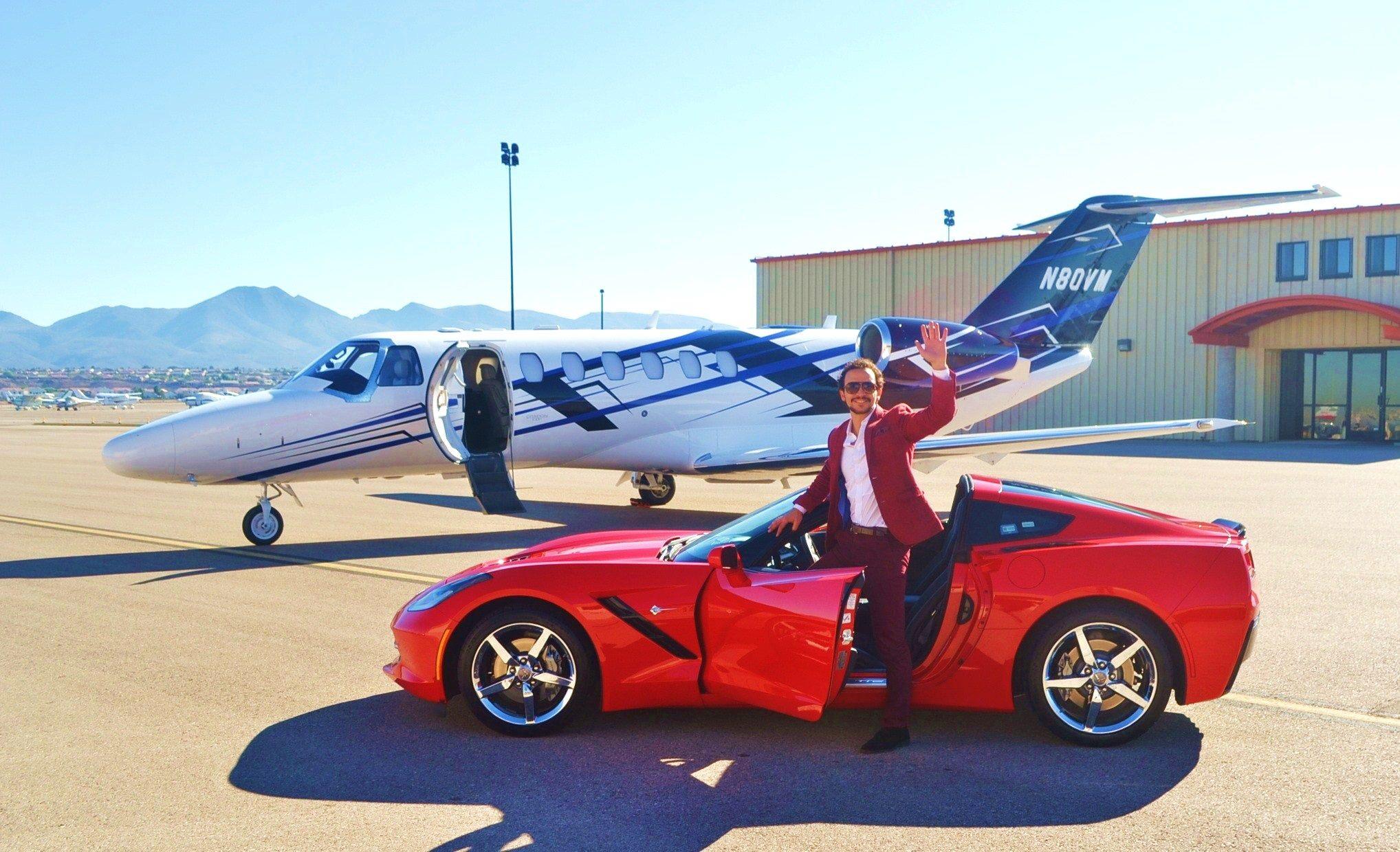 Private Jet for Social Media