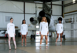 private jet photoshoot in hangar