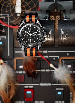 Pilots Watch in Cockpit