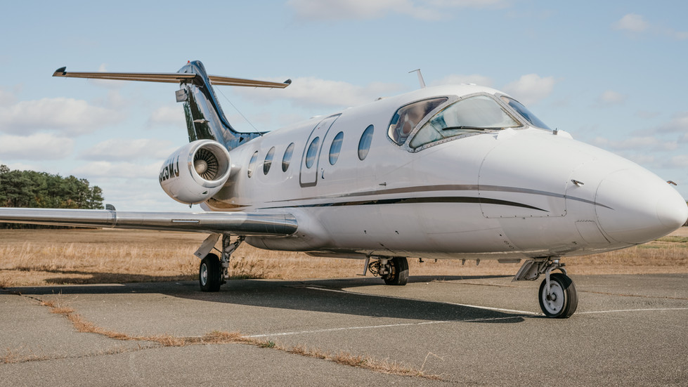 Private Jet Located In New York