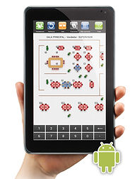 Caisse tactile smartphone