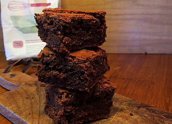Gluten free brownies, homemade and moreish, gluten free, suitable for coeliacs, gluten intolerant