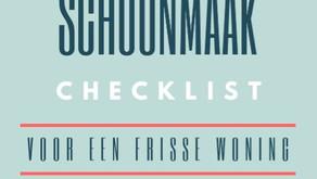 Superhandige checklist voor 'de grote schoonmaak'