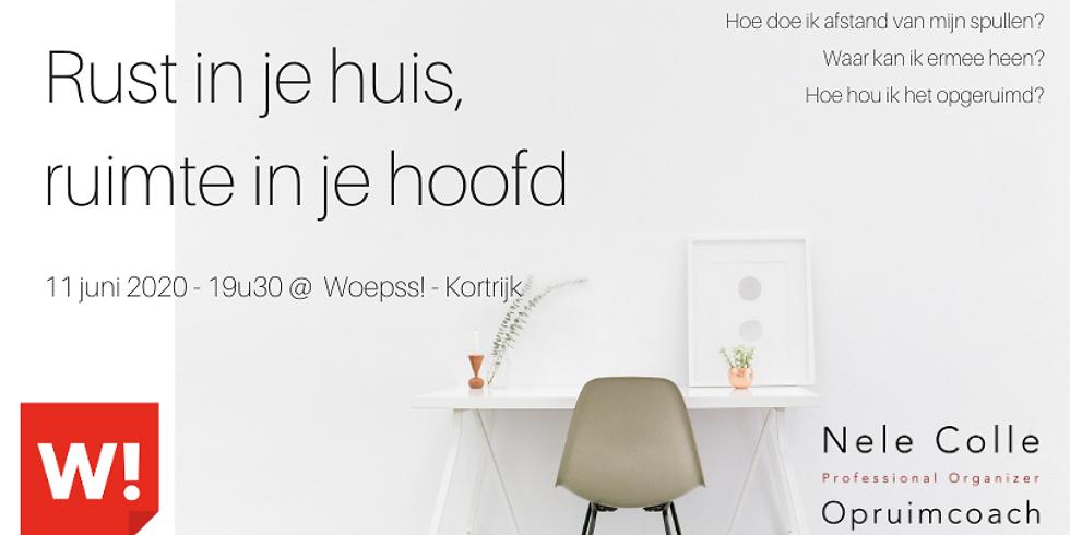 Kortrijk - Rust in je huis, ruimte in je hoofd