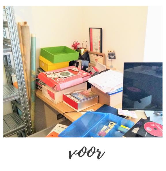clean desk - voor