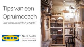 20-6-2019 / 17u45 - Tips van een Opruimcoach - IKEA & Nele Colle