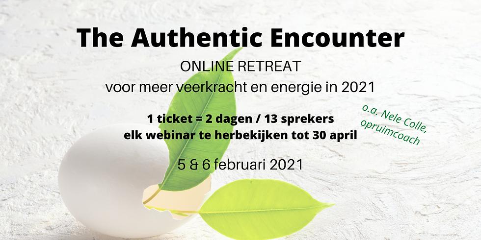 Online 2-daagse voor meer energie en veerkracht - The Authentic Encounter